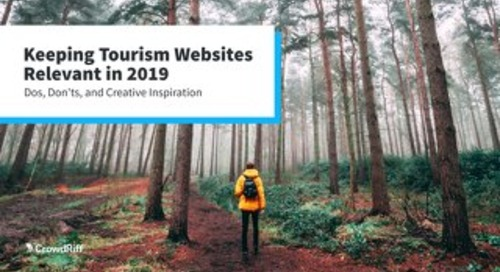 Keeping Tourism Websites Relevant in 2019