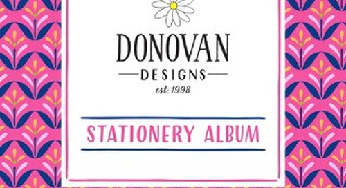 2018 Stationery Album