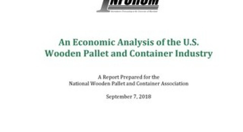 Economic Analysis of the US Wooden Pallet & Container Industry