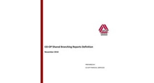 Shared Branching Reports Definition 11-15-18
