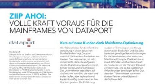 zIIPTM: Volle Kraft voraus für die Mainframes von Dataport