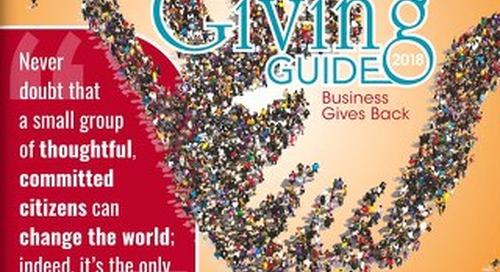 Giving Guide —November 13, 2018