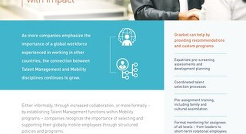 Talent Management Strategies and Mobility: Collaboration with Impact
