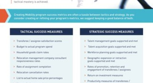 Checklist: Mobility Program Success Measures