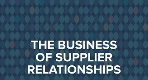 State of Flux - Business of Supplier Relationships