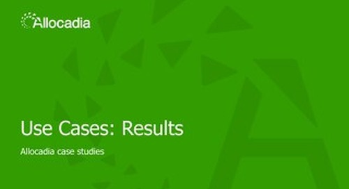 Sales Play 3: Use Case Results