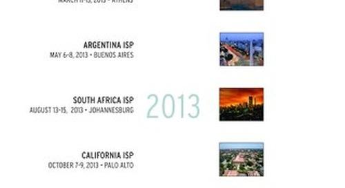 2013 Endeavor ISPs