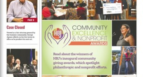 Community Excellence & Nonprofit Awards — November 19, 2018