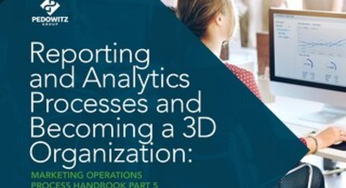 Reporting and Analytics Process Marketing Operations eBook