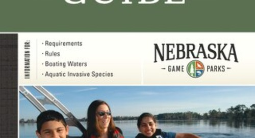 Nebraska Boating Guide 2019