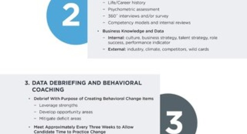 Coaching Development Infographic