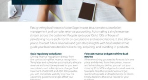 Scale compliance with ASC 606 & IFRS 15 using automated revenue management