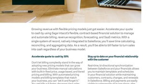 Subscription Billing: Accelerate Quote to Cash