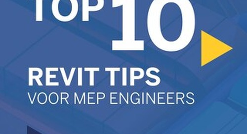 TOP 10 Revit Tips voor MEP engineers