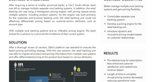 Tier-1 South African bank