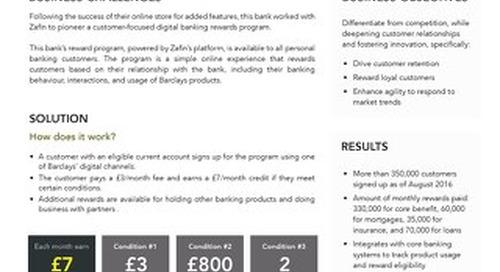 Tier-1 UK bank -  Rewards program