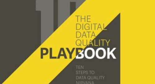 The Digital Data Quality PlayBook