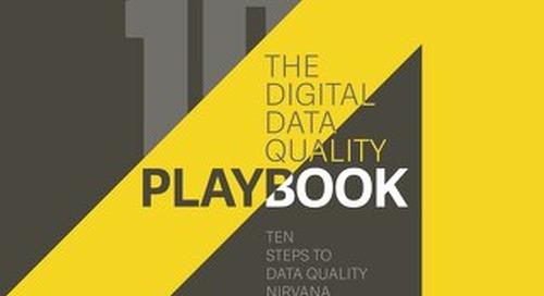 The Digital Data Quality PlayBook