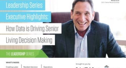 How Data is Driving Senior Living Decision Making