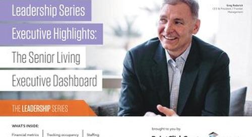 The Senior Living Executive Dashboard