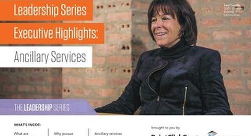 Why Senior Living Needs Ancillary Services