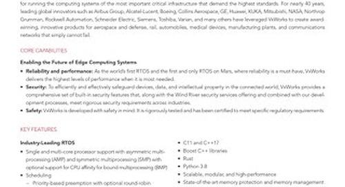 VxWorks Data Sheet