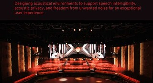 Acoustical Design Consulting Brochure