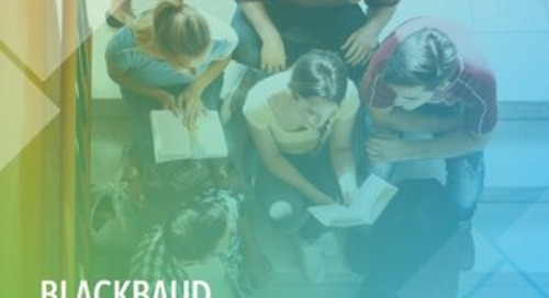 Blackbaud Scholarship and Stewardship Survey 2019