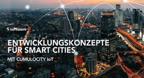 Entwicklungskonzepte für Smart Cities mit Cumulocity IoT