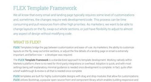 FLEX Template Data Sheet