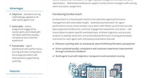 Eureka Coach Datasheet UK