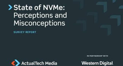 State of NVMe: Perceptions and Misconceptions
