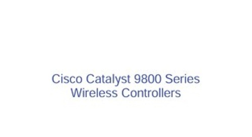 Cisco Catalyst 9800 Ordering Guide