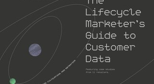 The Lifecycle Marketer's Guide to Customer Data
