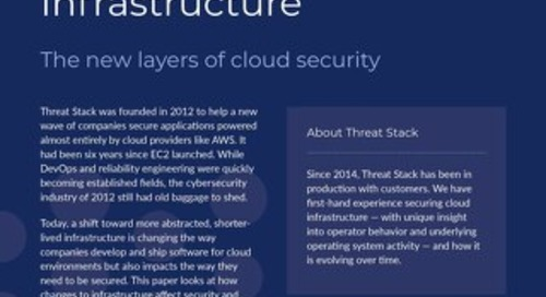 Security Challenges in a Changing Cloud Infrastructure