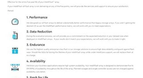 IntelliCare Flash 5 Commitment