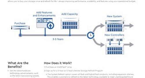 Lifetime Storage Refresh Program