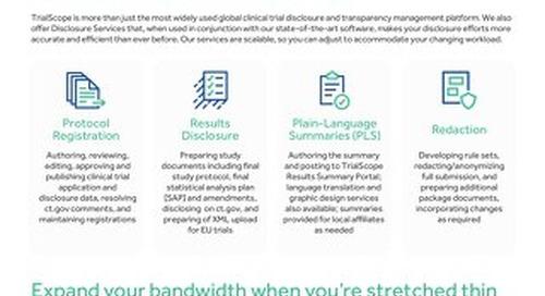 TrialScope Disclosure Services