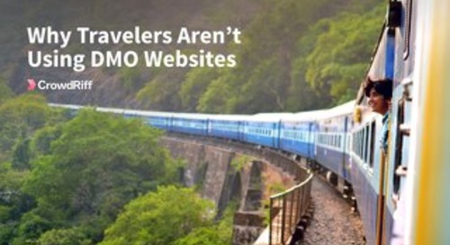 Why Travelers Aren't Using DMO Websites