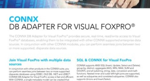 CONNX DB Adapter for Visual FoxPro®