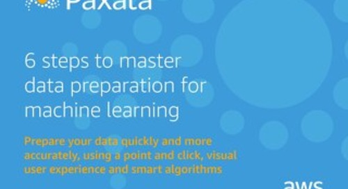 6 Steps to Master Data Preparation for Machine Learning