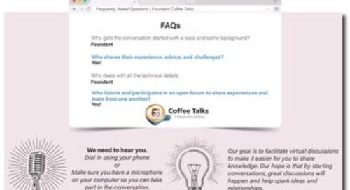 Coffee Talk Participation – What You Need to Know