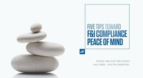 5 Tips Compliance eBook