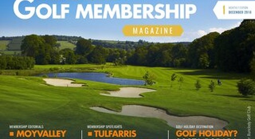 Golf Membership 2018/19 Digital Magazine - Issue 1