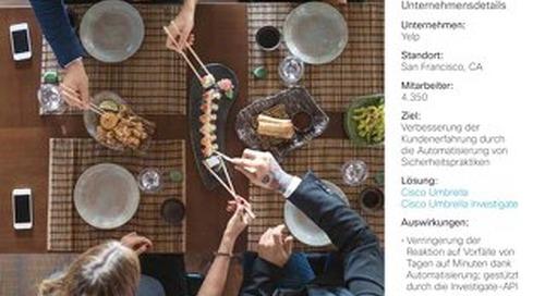 Cisco Umbrella Fallstudie: Yelp