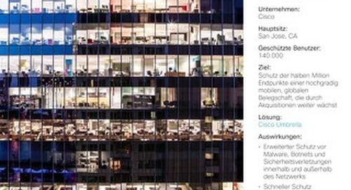 Cisco Umbrella Fallstudie: Cisco