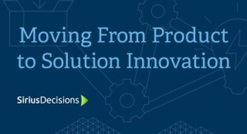 Moving from Product to Solution Innovation E-Book