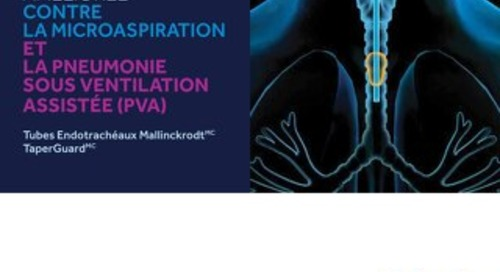 Protection améliorée contre la microaspiration et la pneumonie sous ventilation assistée (pva)