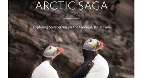 Arctic Saga: Exploring Spitsbergen via the Faroes & Jan Mayen