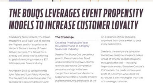 The Bouqs Co. Leverages Generalized Event Modeling